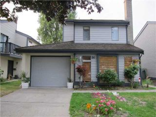 Photo 1: 30 6245 SHERIDAN Road in Richmond: Woodwards Townhouse for sale : MLS®# V1078988