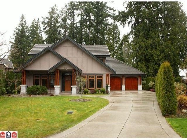 Main Photo: 3373 145TH ST in Surrey: Elgin Chantrell House for sale (South Surrey White Rock)  : MLS®# F1400754