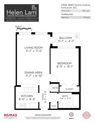 """Photo 17: 406 3660 VANNESS Avenue in Vancouver: Collingwood VE Condo for sale in """"CIRCA"""" (Vancouver East)  : MLS®# R2611407"""