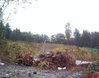 Main Photo: 16550 OLD MCLELLAN ROAD: Land for sale (Cloverdale)  : MLS®# V4001628