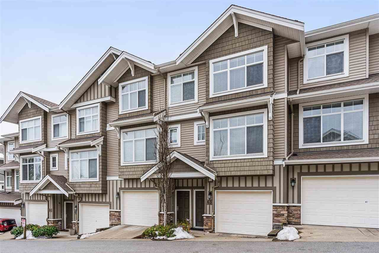 "Main Photo: 63 11282 COTTONWOOD Drive in Maple Ridge: Cottonwood MR Townhouse for sale in ""The Meadows at Verigin's Ridge"" : MLS®# R2341677"