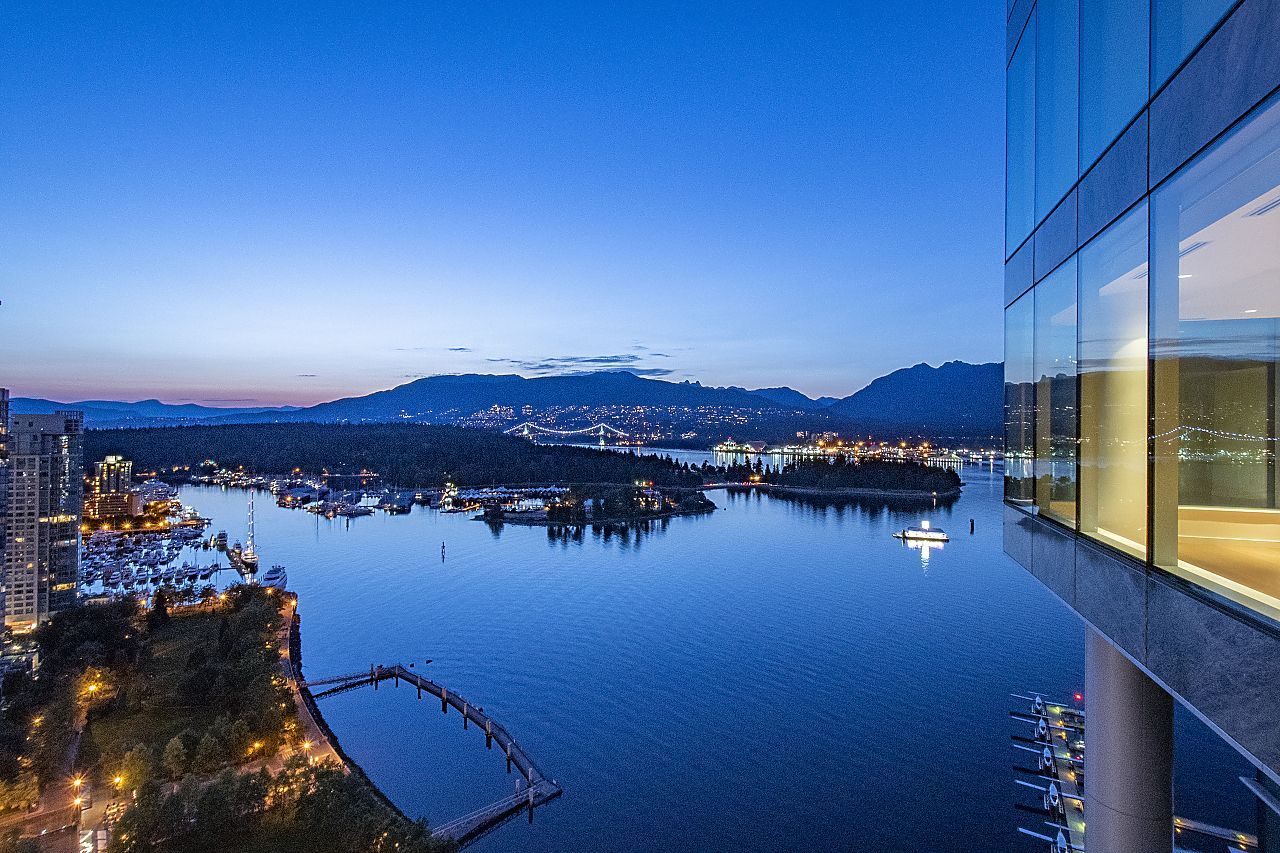 Main Photo: 2601 277 THURLOW STREET in Vancouver: Coal Harbour Condo for sale (Vancouver West)