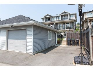 Photo 20: 1500 SIXTH AV in New Westminster: Uptown NW 1/2 Duplex for sale : MLS®# V1132853