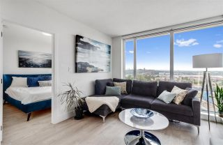 """Photo 1: 2104 680 SEYLYNN Crescent in North Vancouver: Lynnmour Condo for sale in """"Compass"""" : MLS®# R2564502"""