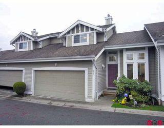 "Photo 1: 21 20788 87TH Avenue in Langley: Walnut Grove Townhouse for sale in ""KENSINGTON VILLAGE"" : MLS®# F2830864"