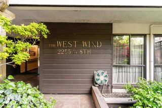 """Photo 1: 210 2255 W 8TH Avenue in Vancouver: Kitsilano Condo for sale in """"WEST WIND"""" (Vancouver West)  : MLS®# R2583835"""