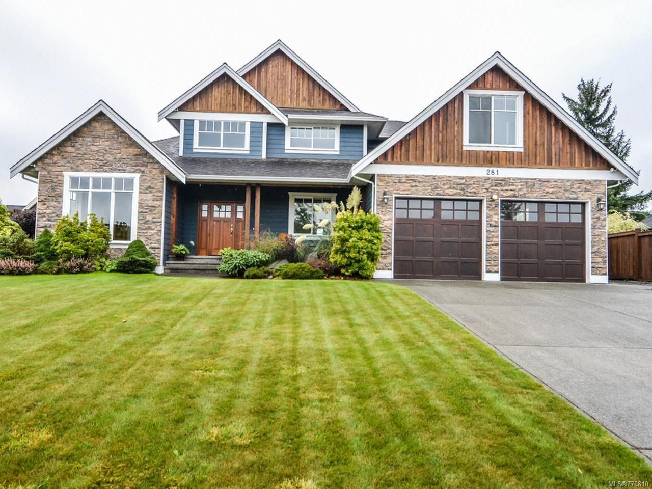 Main Photo: 281 VIRGINIA DRIVE in CAMPBELL RIVER: CR Willow Point House for sale (Campbell River)  : MLS®# 770810