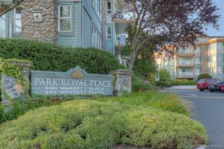 Photo 1: 309 490 Marsett Pl in VICTORIA: SW Royal Oak Condo for sale (Saanich West)  : MLS®# 822080