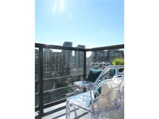 """Photo 14: 1807 1001 HOMER Street in Vancouver: Yaletown Condo for sale in """"The Bentley"""" (Vancouver West)  : MLS®# V1076353"""