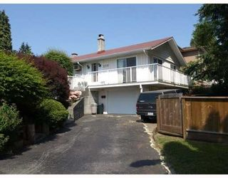 Photo 1: 277 ALLISON Street in Coquitlam: Coquitlam West House for sale : MLS®# V807915