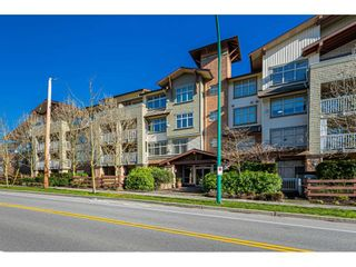 """Photo 2: 408 6500 194 Street in Surrey: Clayton Condo for sale in """"Sunset Grove"""" (Cloverdale)  : MLS®# R2535664"""