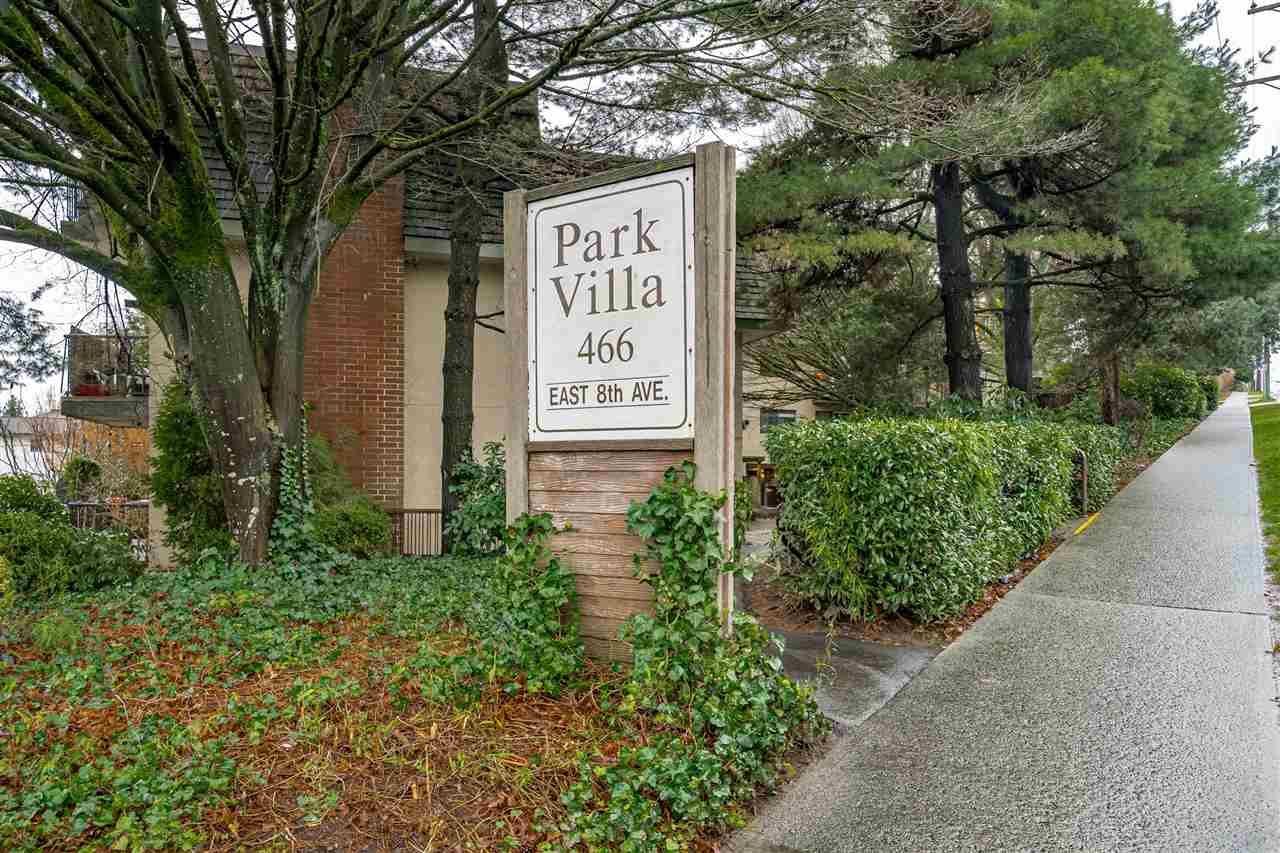 "Main Photo: 307 466 E EIGHTH Avenue in New Westminster: Sapperton Condo for sale in ""Park Villa"" : MLS®# R2448210"