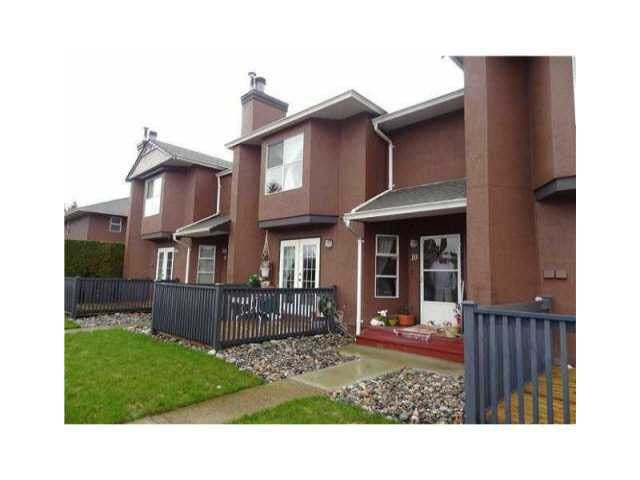 """Main Photo: 10 1336 PITT RIVER Road in Port Coquitlam: Citadel PQ Townhouse for sale in """"WILLOW GLEN"""" : MLS®# V1107161"""