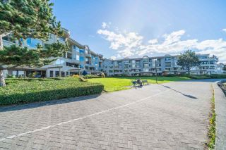 "Photo 1: 205 1859 SPYGLASS Place in Vancouver: False Creek Condo for sale in ""Venice Court-San Remo"" (Vancouver West)  : MLS®# R2514140"