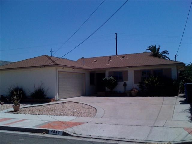Main Photo: CLAIREMONT House for sale : 3 bedrooms : 4843 Mount Casas Drive in San Diego