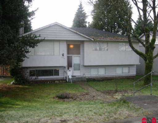 "Main Photo: 12730 100TH AV in Surrey: Cedar Hills House for sale in ""Cedar Hills"" (North Surrey)  : MLS®# F2504162"