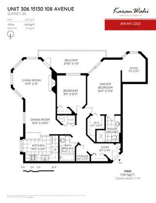 """Photo 1: 306 15130 108 Avenue in Surrey: Guildford Condo for sale in """"Riverpointe"""" (North Surrey)  : MLS®# R2329357"""