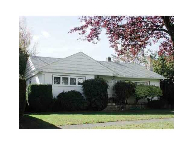 Main Photo: 1142 W 58TH Avenue in Vancouver: South Granville House for sale (Vancouver West)  : MLS®# V900021