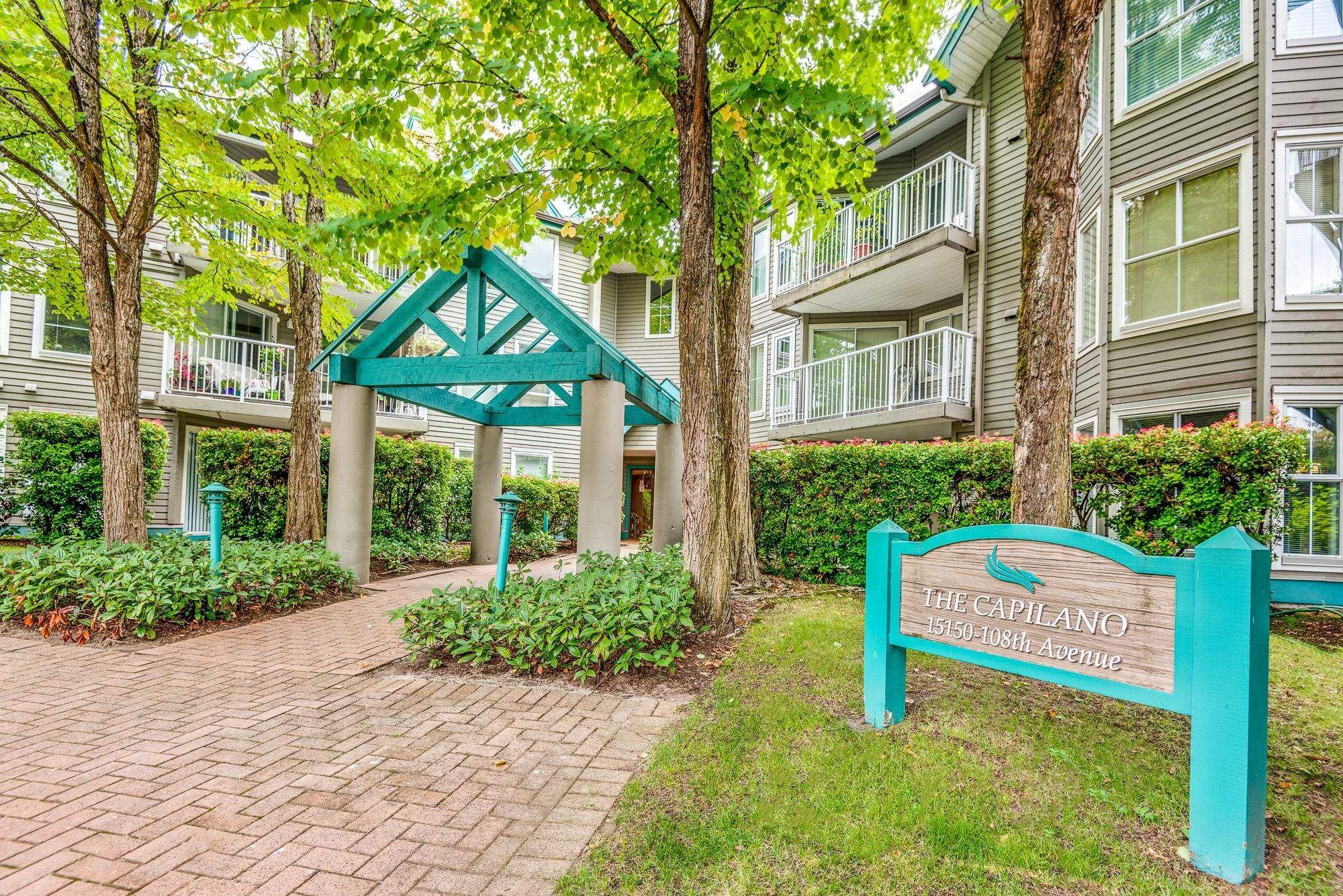"""Main Photo: 101 15150 108 Avenue in Surrey: Guildford Condo for sale in """"Riverpointe"""" (North Surrey)  : MLS®# R2613508"""