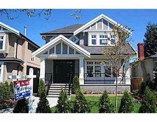 Photo 1: 3183 W 16TH AV in Vancouver: Kitsilano House for sale (Vancouver West)  : MLS®# V584221