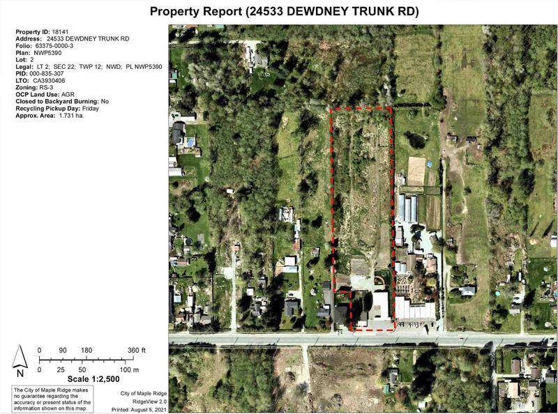 FEATURED LISTING: 24533 DEWDNEY TRUNK Road Maple Ridge