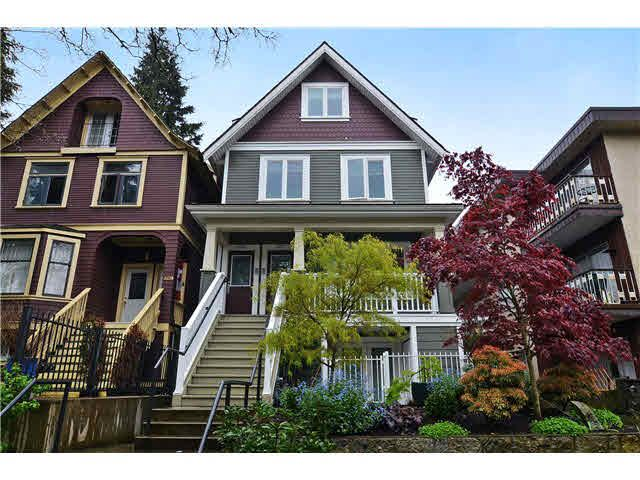 Main Photo: 2250 W 8TH AVENUE in : Kitsilano Townhouse for sale (Vancouver West)  : MLS®# V1116650