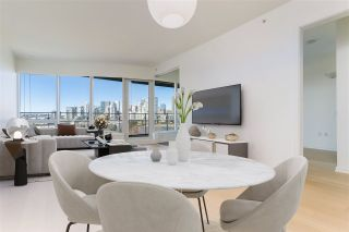 """Photo 1: 807 181 W 1ST Avenue in Vancouver: False Creek Condo for sale in """"BROOK AT THE VILLAGE"""" (Vancouver West)  : MLS®# R2567643"""