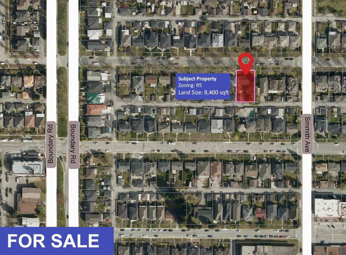 Main Photo: 3772 NITHSDALE Street in Burnaby: Burnaby Hospital House for sale (Burnaby South)  : MLS®# R2569625