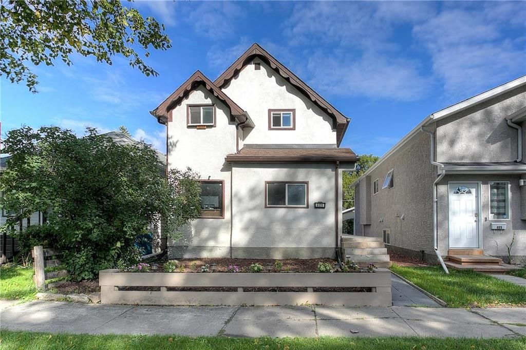 Main Photo: 409 Arnold Avenue in Winnipeg: Lord Roberts Residential for sale (1Aw)  : MLS®# 202122590