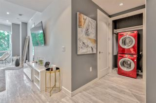 """Photo 9: 203 181 W 1ST Avenue in Vancouver: False Creek Condo for sale in """"BROOK - VILLAGE ON FALSE CREEK"""" (Vancouver West)  : MLS®# R2504203"""