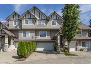 """Photo 1: 43 18181 68 Avenue in Surrey: Cloverdale BC Townhouse for sale in """"THE MAGNOLIA"""" (Cloverdale)  : MLS®# R2191663"""