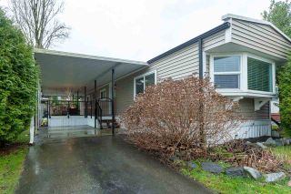 """Photo 1: 74 1840 160 Street in Surrey: King George Corridor Manufactured Home for sale in """"Breakaway Bays"""" (South Surrey White Rock)  : MLS®# R2431476"""