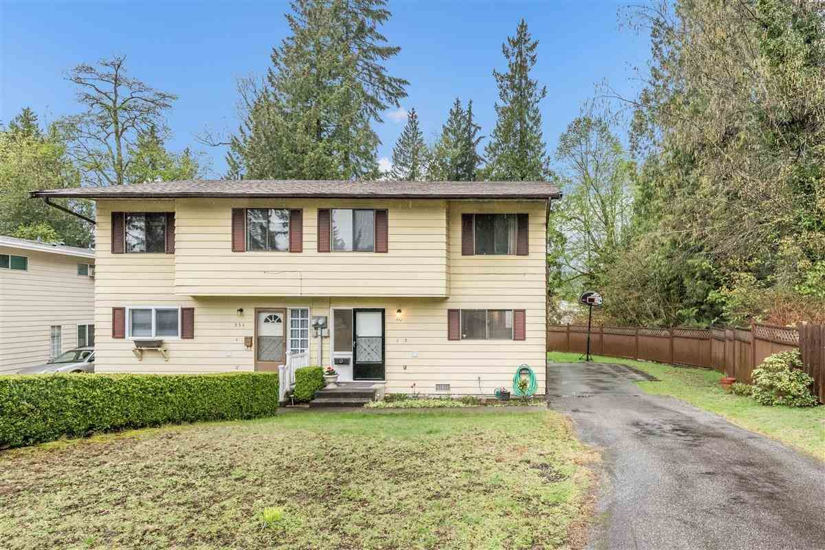 Main Photo: 556 TIPTON Street in Coquitlam: Central Coquitlam 1/2 Duplex for sale : MLS®# R2361104