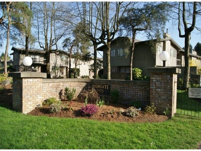 """Main Photo: 24 3150 E 58TH Avenue in Vancouver: Champlain Heights Townhouse for sale in """"HIGHGATE"""" (Vancouver East)  : MLS®# V1057815"""