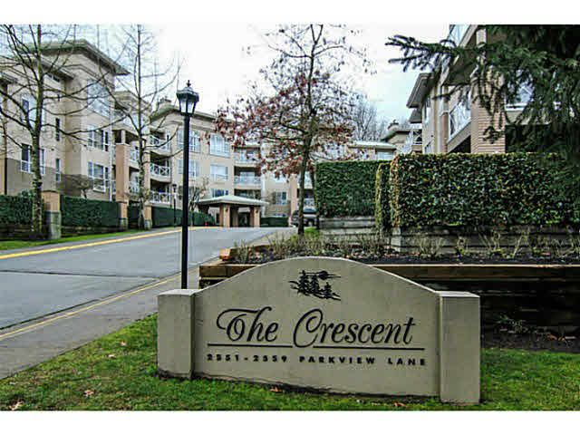 "Main Photo: 215 2559 PARKVIEW Lane in Port Coquitlam: Central Pt Coquitlam Condo for sale in ""THE CRESCENT"" : MLS®# V1143464"