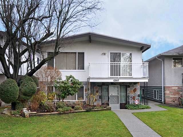 Main Photo: 6848 ROSS Street in Vancouver: South Vancouver House for sale (Vancouver East)  : MLS®# V1041822