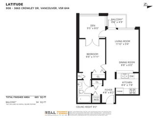"""Photo 36: 908 3663 CROWLEY Drive in Vancouver: Collingwood VE Condo for sale in """"LATITUDE"""" (Vancouver East)  : MLS®# R2625175"""
