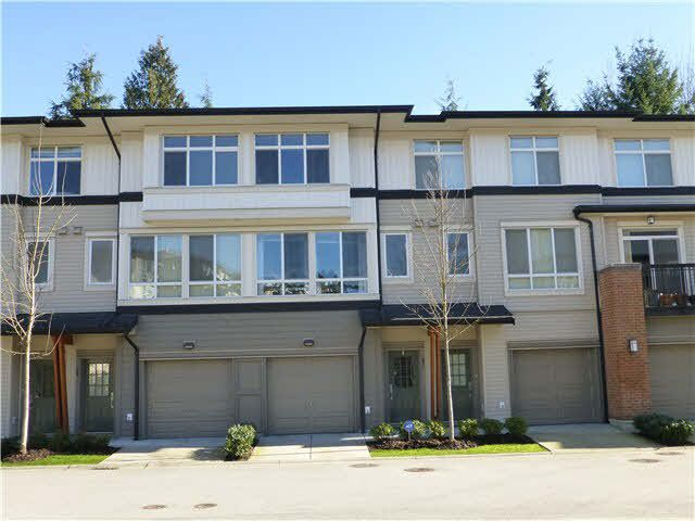 "Main Photo: 57 1125 KENSAL Place in Coquitlam: New Horizons Townhouse for sale in ""KENSAL WALK"" : MLS®# V1106910"
