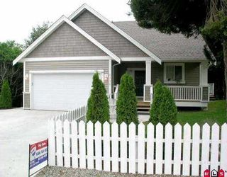 Photo 1: 2332 MCKENZIE RD in Abbotsford: Central Abbotsford House for sale : MLS®# F2526241