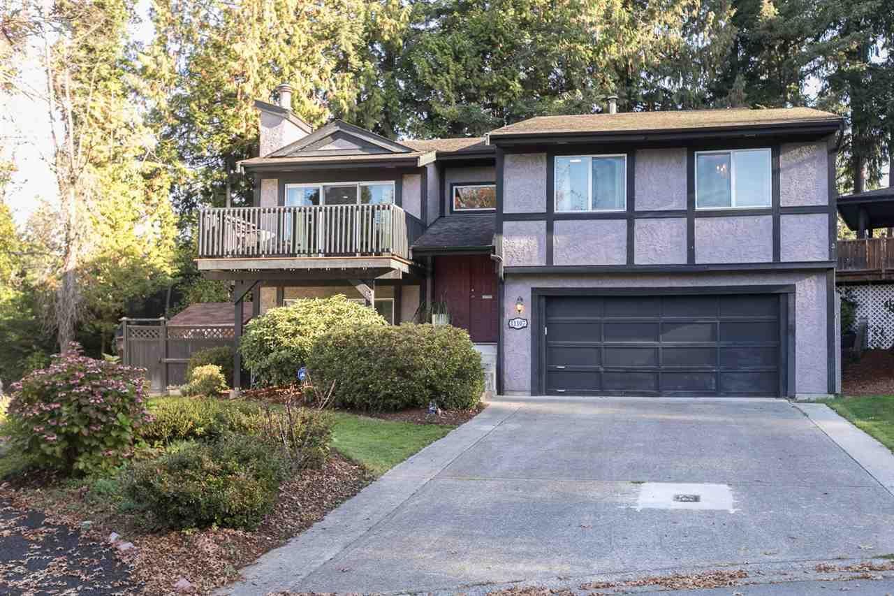 "Main Photo: 11107 YORK Place in Delta: Sunshine Hills Woods House for sale in ""Sunshine Hills"" (N. Delta)  : MLS®# R2315268"