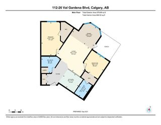 Photo 16: 112 26 Val Gardena View SW in Calgary: Springbank Hill Apartment for sale : MLS®# A1145110