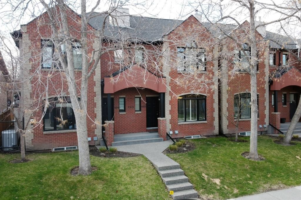 Main Photo: 403 3511 14A Street SW in Calgary: Altadore Row/Townhouse for sale : MLS®# A1104050