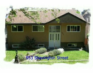 Photo 1: 953 SHAVINGTON ST in North Vancouver: Queensbury House for sale : MLS®# V595971