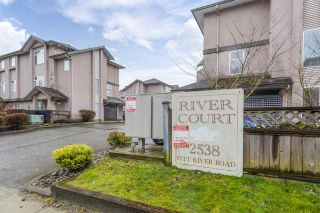 """Photo 2: 17 2538 PITT RIVER Road in Port Coquitlam: Mary Hill Townhouse for sale in """"RIVER COURT"""" : MLS®# R2549058"""