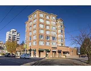 "Photo 1: 504 2580 TOLMIE Street in Vancouver: Point Grey Condo for sale in ""POINT GREY PLACE"" (Vancouver West)  : MLS®# V743763"