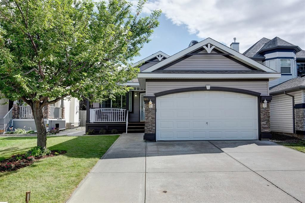 Main Photo: 185 Chaparral Common SE in Calgary: Chaparral Detached for sale : MLS®# A1137900