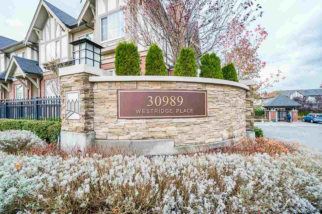 """Main Photo: 20 30989 WESTRIDGE Place in Abbotsford: Abbotsford West Townhouse for sale in """"Brighton"""" : MLS®# R2517527"""