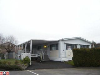 """Photo 1: 38 8254 134 Street in Surrey: Queen Mary Park Surrey Manufactured Home for sale in """"Westwood Estates"""" : MLS®# F1102670"""