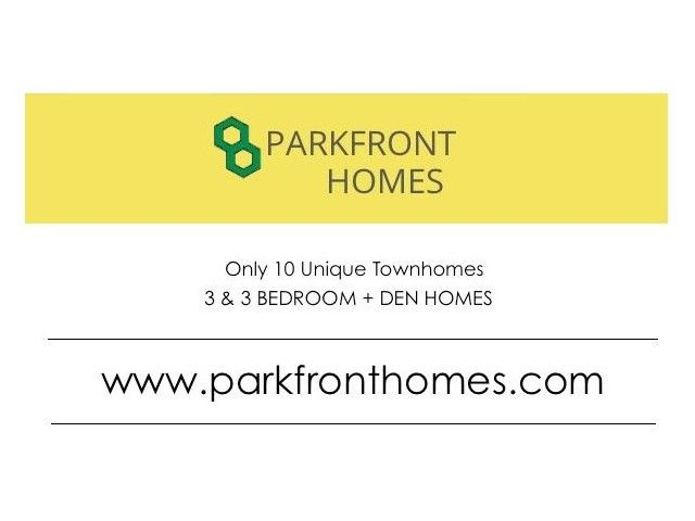 """Main Photo: 1 8531 WILLIAMS Road in Richmond: Saunders Townhouse for sale in """"PARKFRONT HOMES"""" : MLS®# V1040103"""
