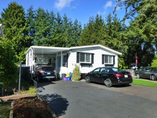 """Photo 1: 31 2305 200 Street in Langley: Brookswood Langley Manufactured Home for sale in """"Cedar Lane"""" : MLS®# R2223523"""